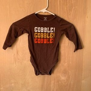 Baby Carter's Thanksgiving onesie